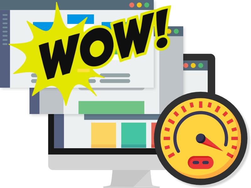 super snelle websites